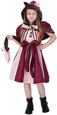 YANZZ Halloween Disfraz de Cosplay Infantil, Alicia en el país de ...