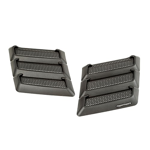 Rugged Ridge 17759.09 Black Performance Hood Vent for Jeep JK Wrangler by Rugged Ridge (Image #11)