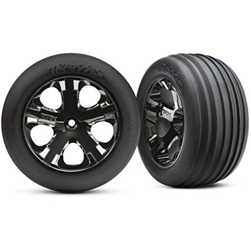 Traxxas 3771A Alias Ribbed Tires Pre-Glued on 2.8