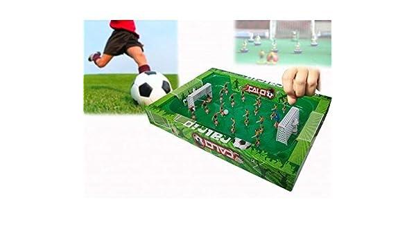 Juego fútbol portátil con muelles para facilitar el movimiento de ...