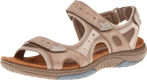 Rockport Cobb Hill Women's Fiona Sandal, Taupe, 10 M US