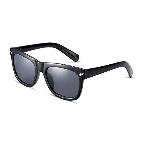 Naivo Retro Wayfarer Sleek Charcoal Classic Gradient - Definition Polarize Of