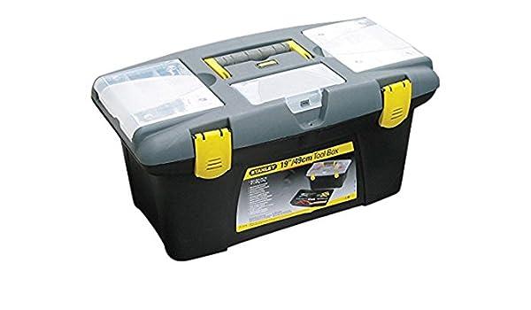 Stanley (STA192906) Jumbo Caja de herramientas, 486 mm x 276 mm x 232 mm: Amazon.es: Industria, empresas y ciencia