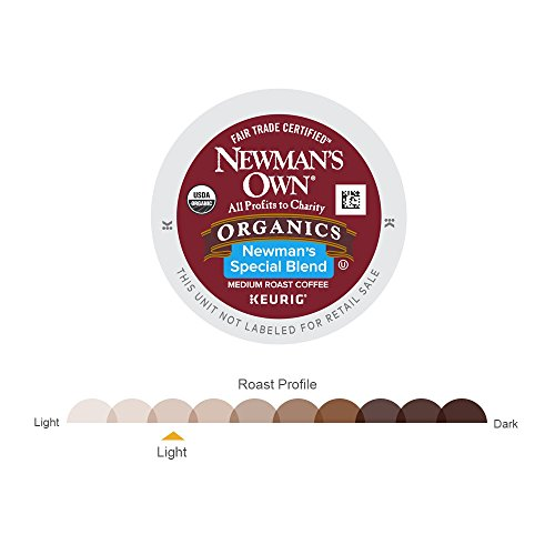 Newman's Own Organics Special Blend Keurig Single-Serve Medium Roast Coffee K-Cup Pods, 32 Count by Newman's Own (Image #2)