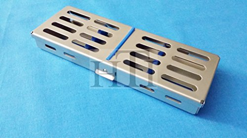 (French Steel Autoclave Dental Surgical Lab Sterilization Cassette 7