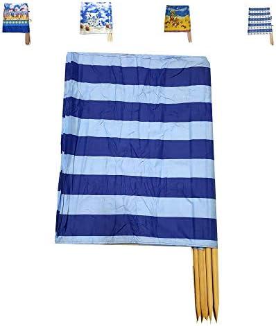 Aves-24 Windschutz 8m x 80cm für Strand Garten See Meer SICHTSCHUTZ Wind Zaun Schutz Blickschutz Camping
