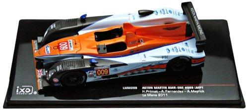 Ixo - Lmm209 - Véhicule Miniature - Modèle À L'Échelle - Aston Martin Lmp1 Amr One Gulf - Le Mans 2011 - Echelle 1/43