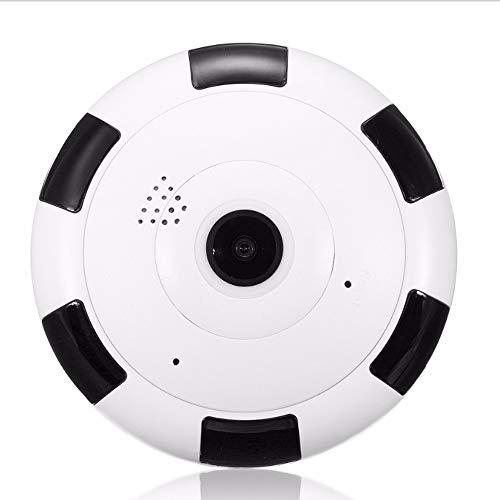 HD cámara de vigilancia inalámbrica de video vigilancia de dos vías de audio infrarrojo noche visión 360 grado panorama 2...