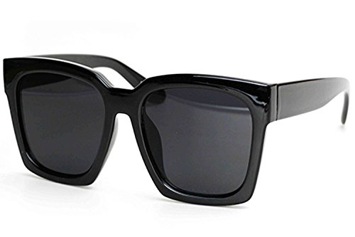 O2 Eyewear 7151 Premium Oversize XXL Women Men Mirror Fashion Sunglasses (Oversized, SOLID - Polarized Difference And Protection Uv Between