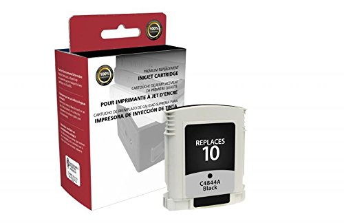 CIG Remanufactured Black Ink Cartridge for HP C4844A (HP 10) ()