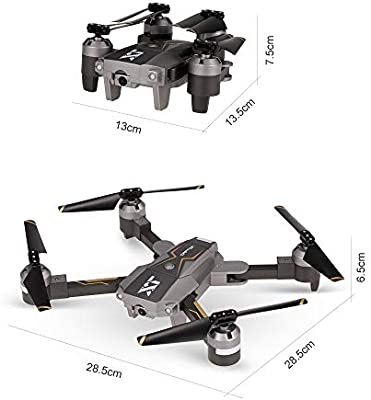ElevenY Mini Selfie plegable Drone X-Pack 8 2.0MP Cámara Drone ...