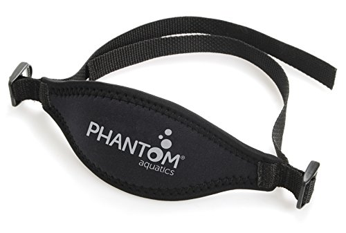 Phantom Aquatics Scuba Snorkeling Adjustable Neoprene Mask Strap, - Neoprene Replacement
