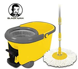 Blackman Double Wash 3 Spin Mop with Bucket