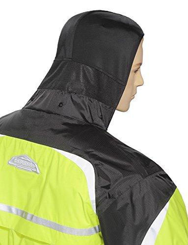 Tourmaster Sentinel 2.0 Rain Jacket (SMALL) (HI-VIZ YELLOW/BLACK)