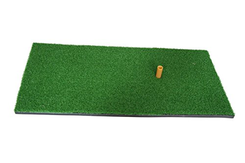 "12""x24"" Golf Mat with Rubber Tee Holder"