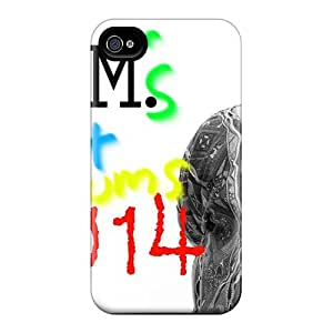 PamelaSmith Iphone 4/4s Protective Hard Phone Cases Custom Beautiful Foo Fighters Pictures [bLL2532XNui]