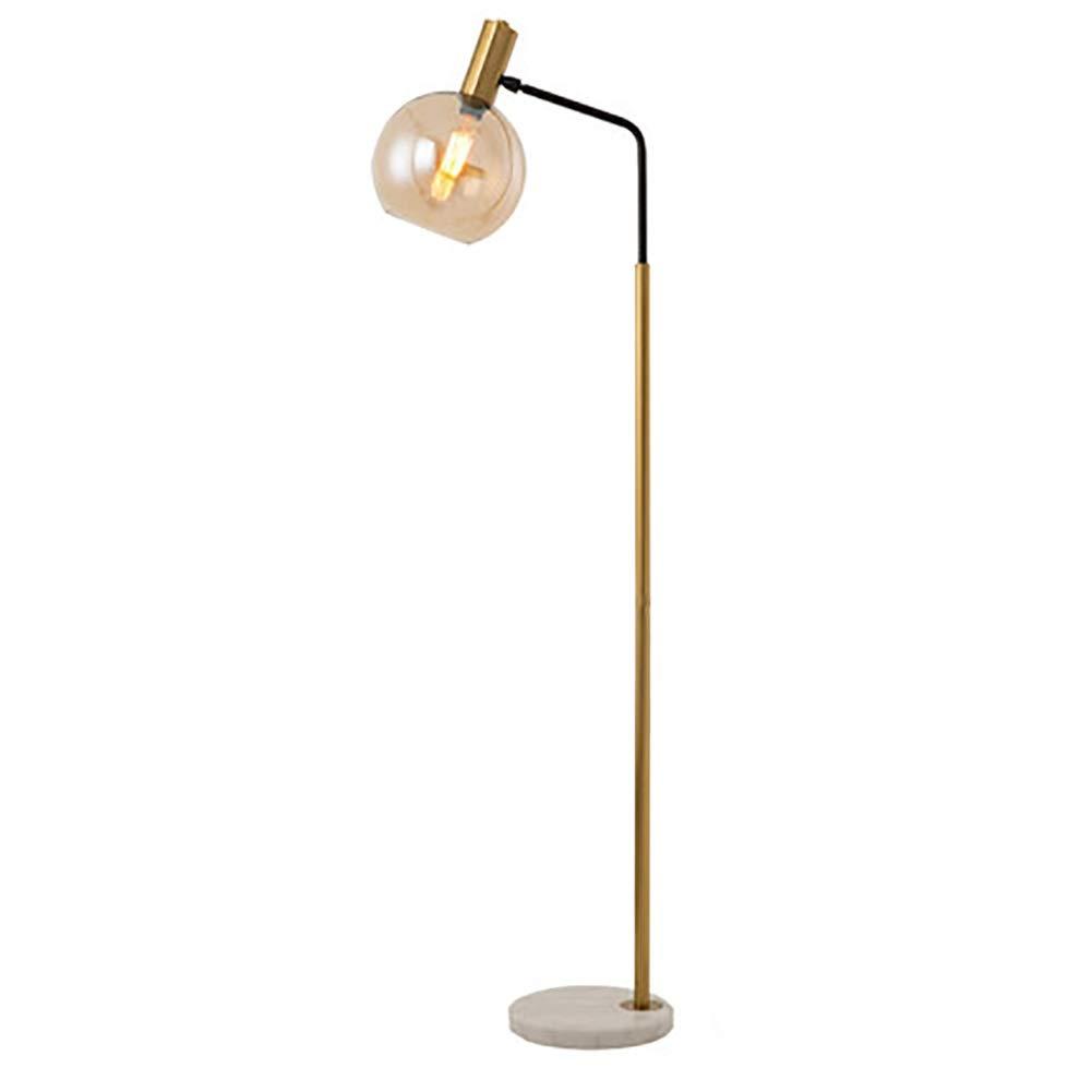 フロアランプ ランプ- フロアランプ - 読書用、リビングルーム、ベッドルーム用 - エレガントで中世のモダンな調節可能な立て棒付きLED My-JUAN.97 (色 : A) B07SBVXMB8 A