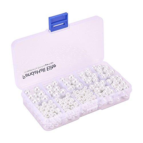 PandaHall Elite White Various Container