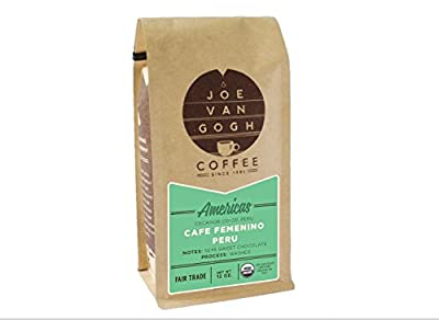 Fair Trade Americas Whole Bean Organic Coffee Ground Cafe Feminino Peru Gourmet Specialty Coffee Full Bodied Notes