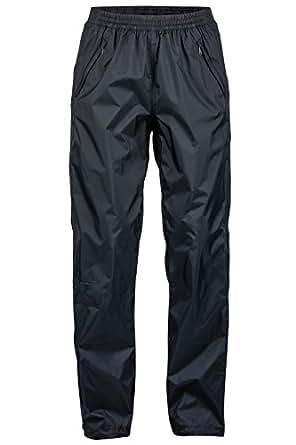 Marmot PreCip Women's Lightweight Waterproof Full-Zip Pant, Jet Black, X-Small