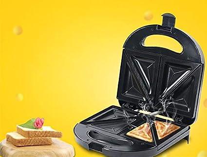 Kmianbaojx Tostadoras Máquina sándwich multifunción tostadora máquina de Hacer gofres Barbacoa casera 23 * 23 *
