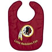 WinCraft NFL Washington Redskins WCRA2049914 All Pro Baby Bib