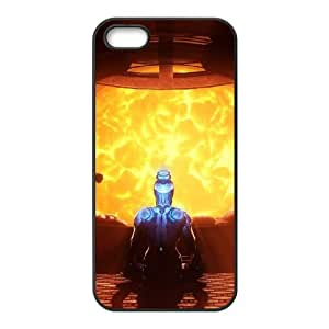 K4W24 Warframe corazón del cosmos funda iPhone W7L7MU 4 4s funda caja del teléfono celular cubren PI5HKI7NY negro