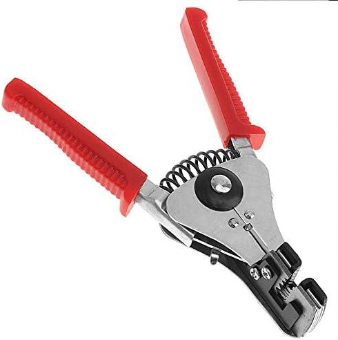 BXKEJI 7インチの多機能自動ワイヤーストリッパー圧着工具で、破壊/締め付け/ストリッピングが可能です。対角ペンチ|圧着工具