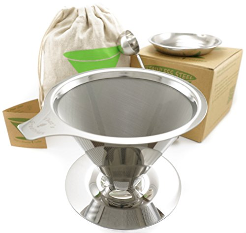 pour-over-coffee-dripper-kit-eco-friendly-paperless-reusable-stainless-steel-filter-cone-with-cup-st
