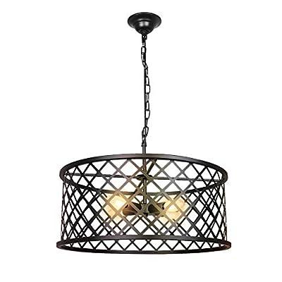 Paragon Home 3-Lights Pendant Lighting, E12 Base (Bulbs Not Included)
