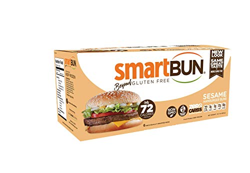 - Gluten Free, ZERO CARB of sugar of starch, sesame, Hamburger Buns- 24 pack
