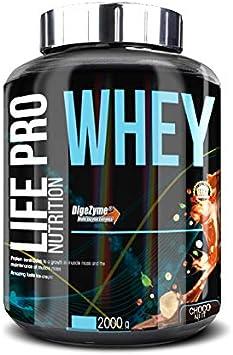 Life Pro Whey 2Kg | Suplemento Deportivo, 78% de Proteína de Concentrado de Suero, Protege Tejidos, Anticatabolismo, Crecimiento Muscular y Facilita ...