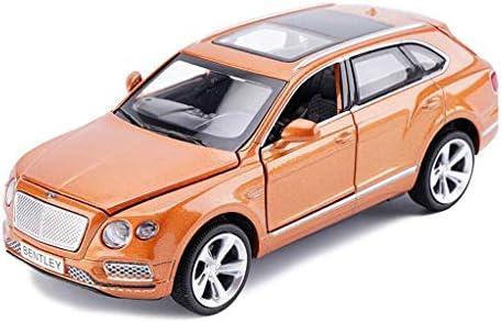 YN モデルカー シミュレーションモデルカーベントレーBentayga合金車1:32合金カーシミュレーションカーモデル子供のおもちゃ音と光プルバック ミニカー