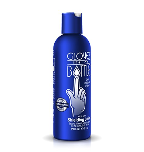 8 Pair Oil (Gloves In A Bottle Shielding Lotion-8 ounce)