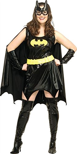 Rubie's Costume Co - Plus Size Deluxe Adult Batgirl Costume - Size 14-16]()