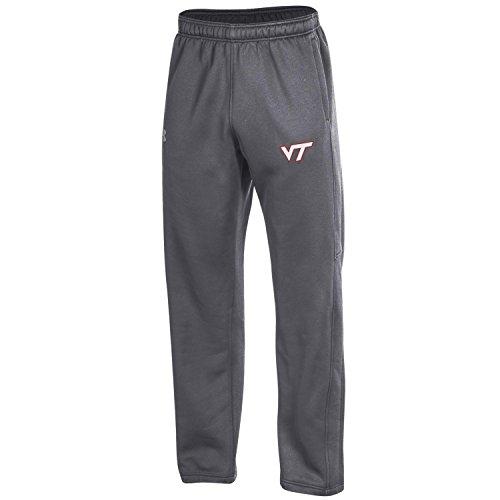 Under Armour NCAA Virginia Tech Hokies Adult Men's Fleece Pants, X-Large, Carbon ()