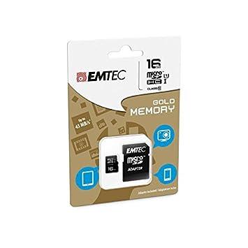 Tarjeta de memoria 16 GB para Samsung Galaxy S Micro SD HC y ...
