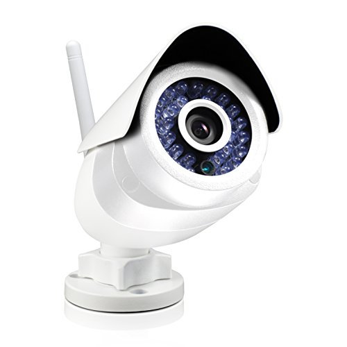 Swann ADS-466 Indoor/Outdoor Wireless Security Camera White SWADS-466CAM-US