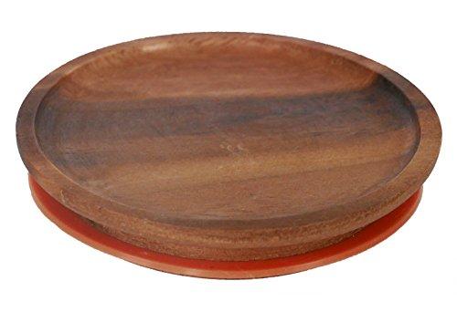 Weck Wood Lid (Large=100mm) Fits models 740, 741, 742, 743, 738, 739, 744, 745, 748, 974
