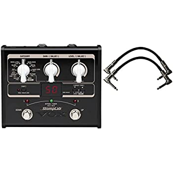 vox stomplab 1b bass effects pedal 60 effects w 2 6 patch cables musical. Black Bedroom Furniture Sets. Home Design Ideas
