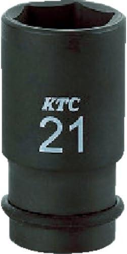 京都機械工具(KTC) インパクトレンチ ソケット BP4M24TP 対辺寸法:24×差込角:12.7×全長:52mm セミディープ薄肉