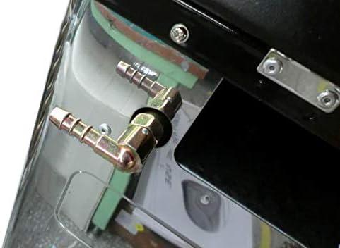 NJ CO-01 Gaz Camping Four Portable Acier Inoxydable Extérieur Caravane 2 feux plaque