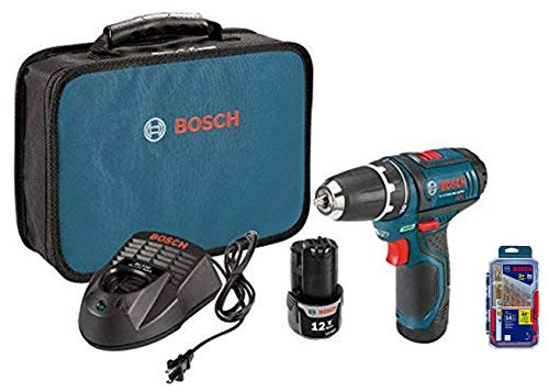 Bosch PS31-2A 12V Max Lithium-Ion 3/8-Inch 2-Speed Drill/Driver Kit