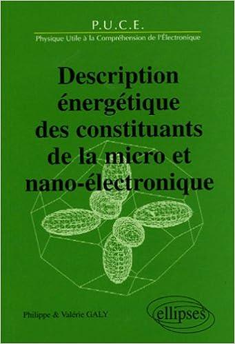 Téléchargement Description énergétique des constituants de la micro et nano-électronique pdf, epub ebook