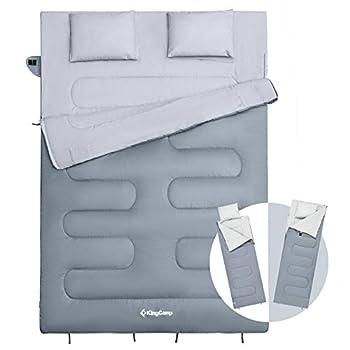 KingCamp Double Sleeping Bag for 2 Adults