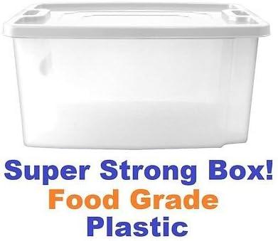 Jumbo grande fiambreras de plástico transparente cajas de ...