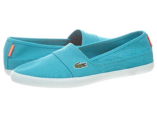 Lacoste Women's Marice Aur Spw Txt Trqs/Trqs Loafers & Slip-Ons Shoe 9 Women US