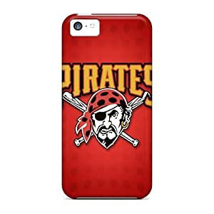 Awesome Design Pittsburgh Pirates Hard Case Cover For Iphone 5c