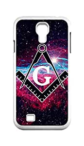 Cool Painting freemason freemasons Snap-on Hard Back Case Cover Shell for Samsung GALAXY S4 I9500 I9502 I9508 I959 -1293