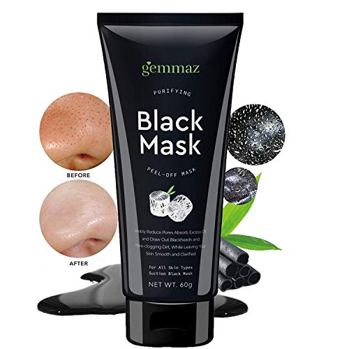 Black Mask Peel off Mask, Charcoal Purifying Blackhead Remover Mask Deep Cleansing for Acne & Acne Scars, Blemishes, Anti-Aging, Wrinkles, Organic Activated Charcoal by AsaVea (Image #4)
